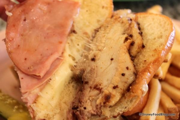 Pork Belly Sandwich Inside