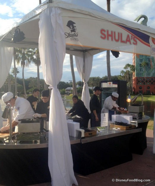 Shula's Booth Is Always Popular at the Swan and Dolphin Food and Wine Classic