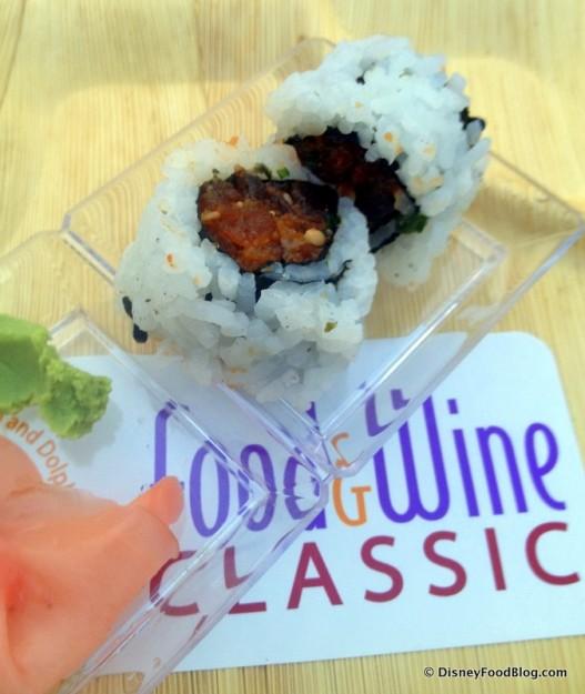 Sushi -- Up Close