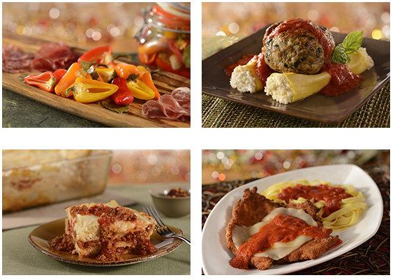 Trattoria Dinner Entrees