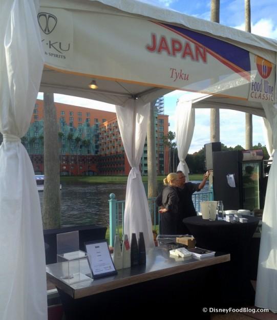 Tyku Sake Booth