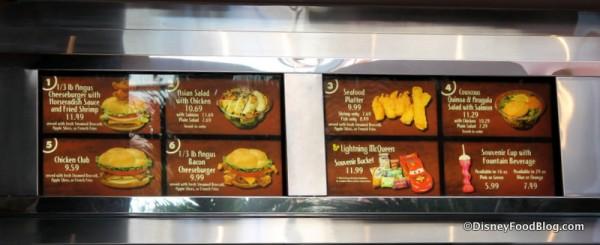 ABC Commissary menu