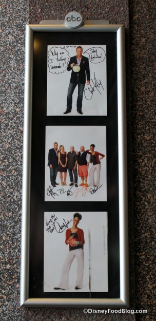"Signed pictures from cast of ""The Chew"""