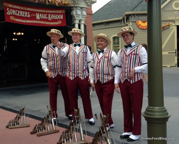 Dapper Dans in the fall!