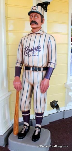Casey's Corner baseball player