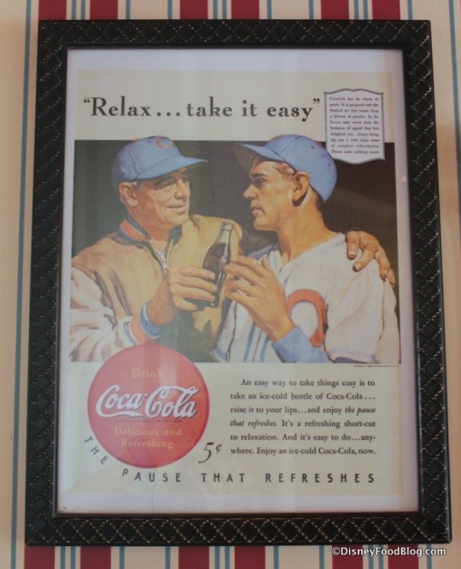 Vintage Coke Advertisement