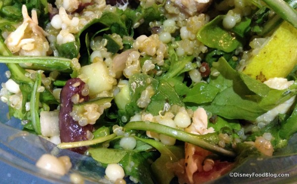 Couscous and quinoa blend in salad