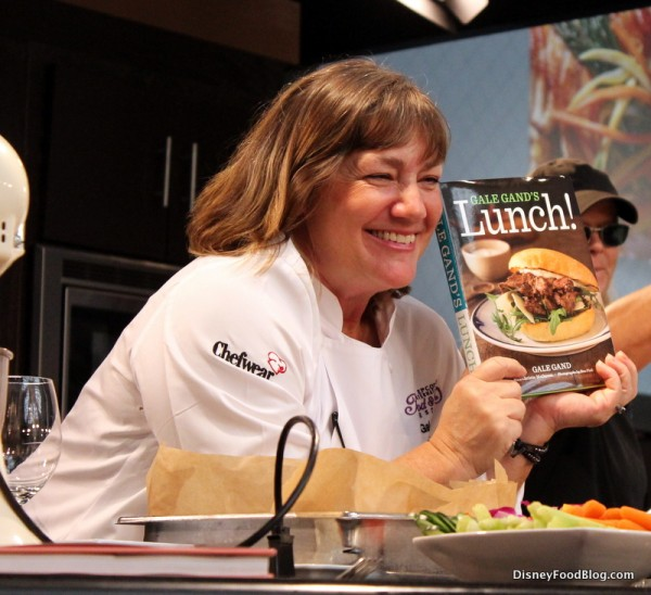 """Gale Gand with new """"Lunch!"""" Cookbook"""