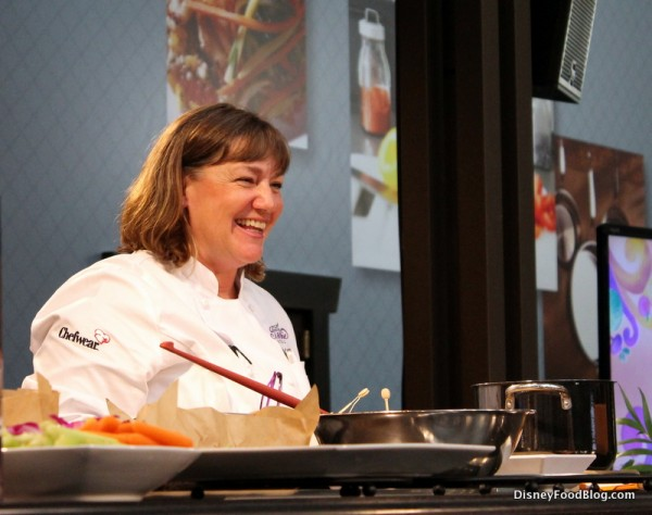 Chef Gale Gand Leads a Culinary Demonstration