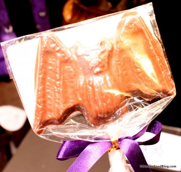 Milk Chocolate Bat Pops