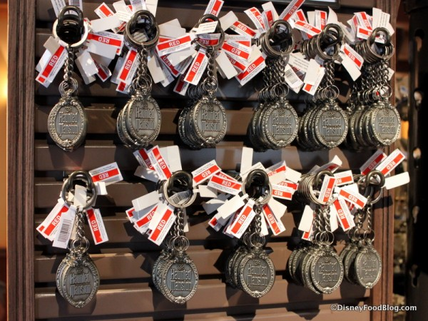 Haunted Mansion keychains