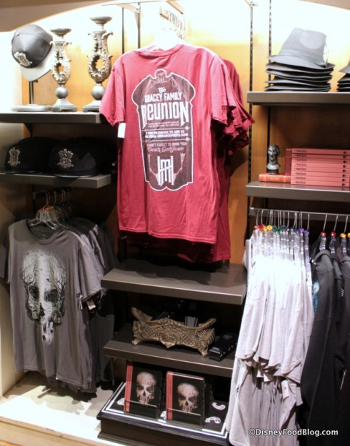 Men's Gracey Family Reunion t-shirt in display