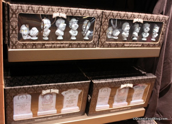 Haunted Mansion Christmas ornaments