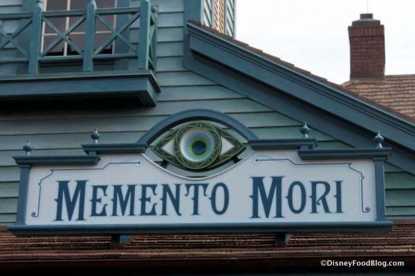 Memento Mori sign