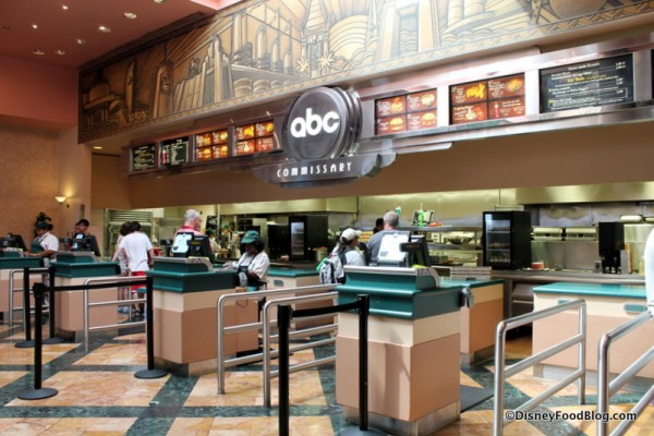 Ordering stations at ABC Commissary