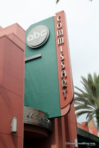 ABC Commissary Sign