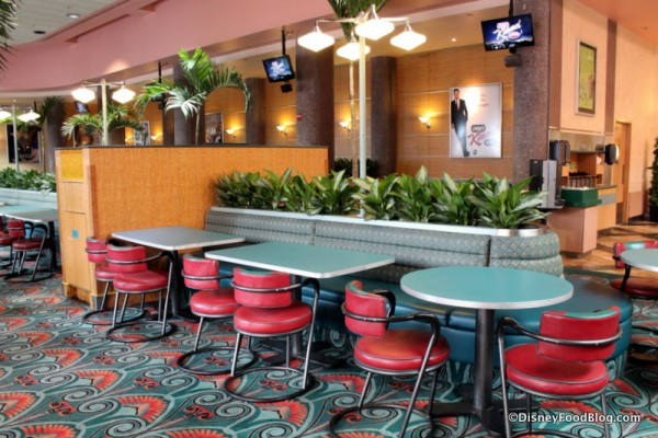 ABC Commissary seating