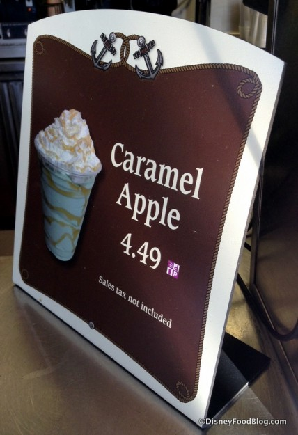 Caramel Apple Shake