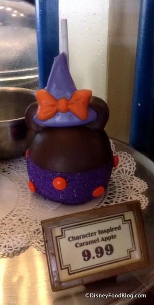 Minnie Witch Candy Apple
