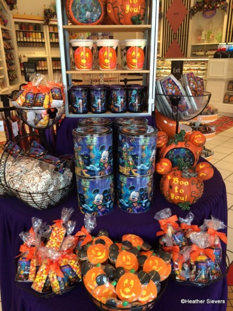 Marceline's Halloween Time Treats Display