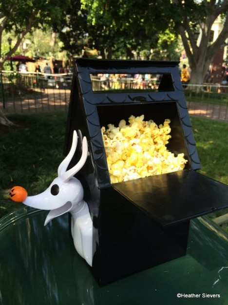 Dining In Disneyland Zero Premium Popcorn Bucket And