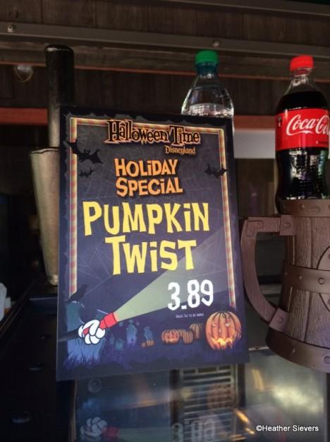 Pumpkin Twist Signage