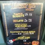 Dining in Disneyland: Pumpkin Beignets & Maleficent Sipper from the Mint Julep Bar