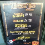 Dining in Disneyland: Pumpkin Beignets & Maleficent Sipper from the Mint Julep Bar
