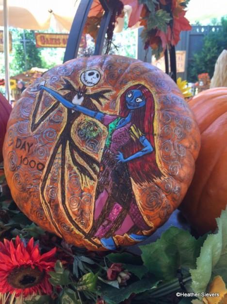 Jack and Sally Pumpkin