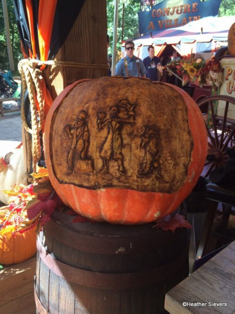 Hitchhiking Ghosts Pumpkin