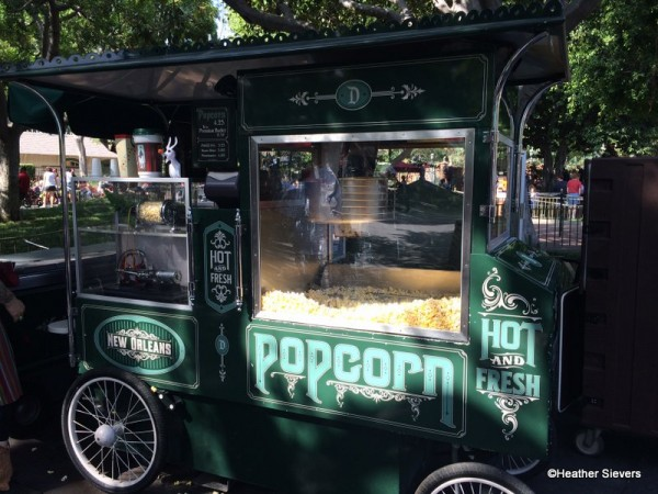 New Orleans Square Popcorn Cart