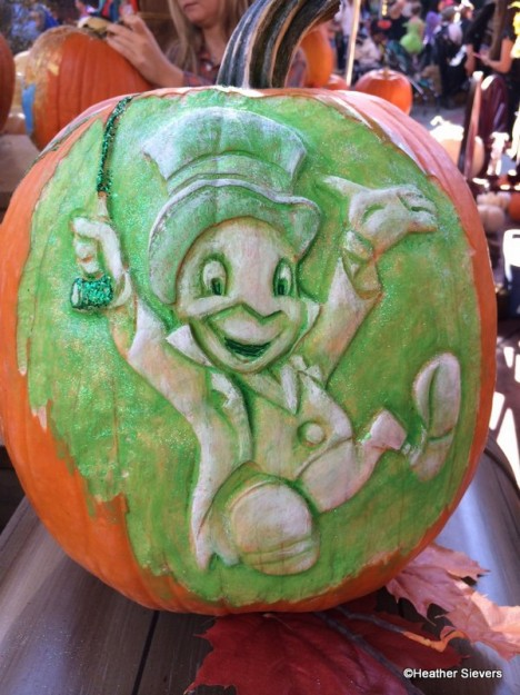 Jiminy Cricket Pumpkin