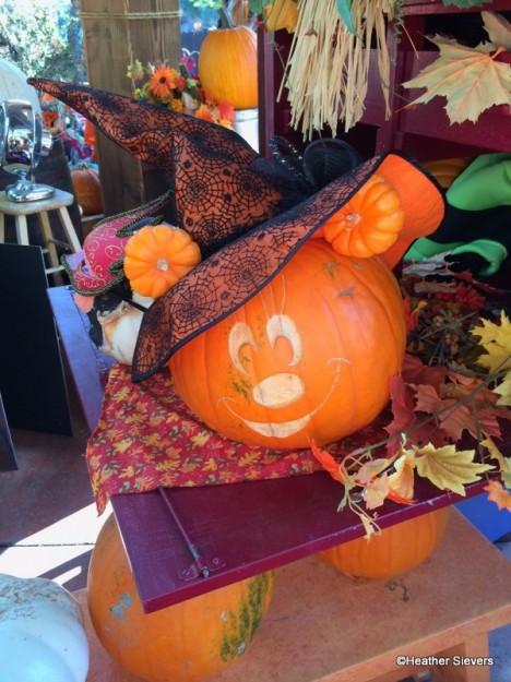 Minnie with Mini Pumpkin Ears