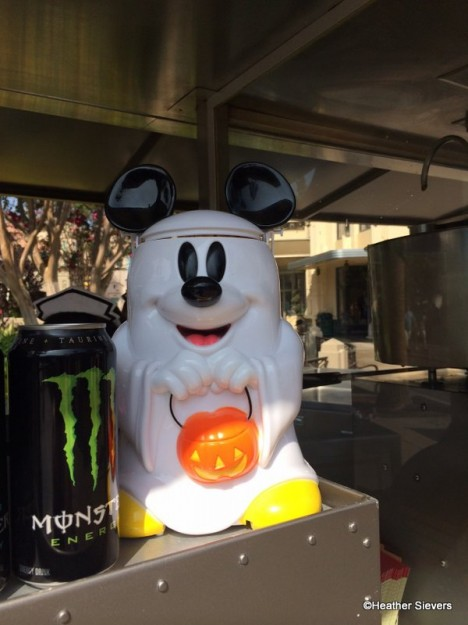 Mickey Ghost Premium Popcorn Bucket