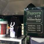Dining in Disneyland: Zero Premium Popcorn Bucket and Other Halloween Time Popcorn Souvenirs