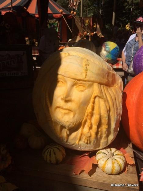 Jack Sparrow Pumpkin