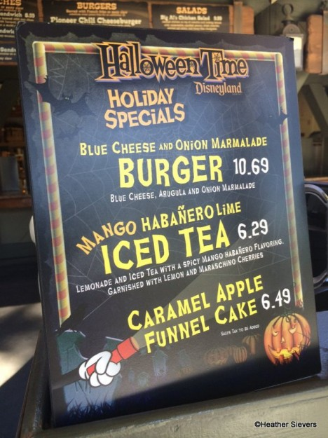 Caramel Apple Funnel Cake Signage
