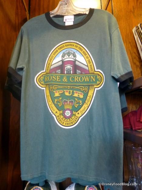 Men's green t-shirt