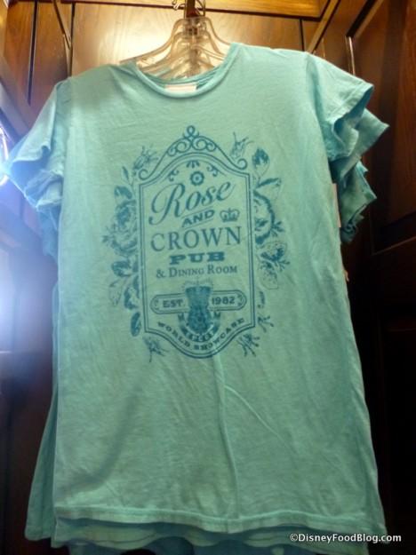 Women's green t-shirt