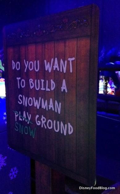 """""""Do You Wanna Build a Snowman?"""""""