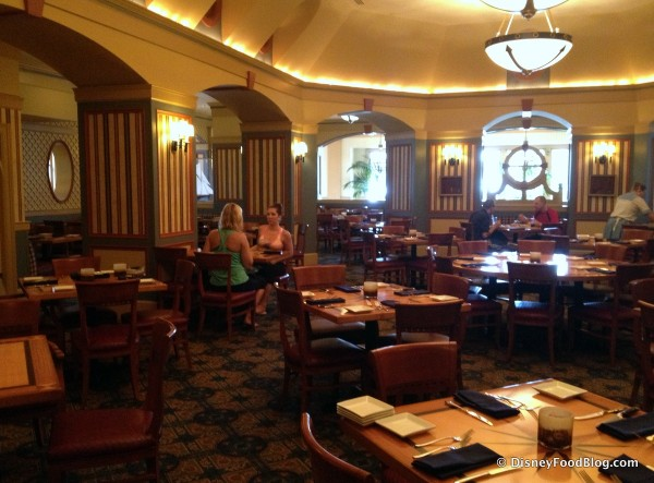 Captain's Grille is relocating temporarily in mid-May