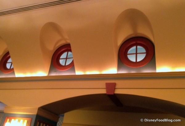 Porthole Window Detail