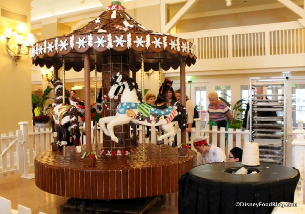 Creating the Gingerbread Carousel
