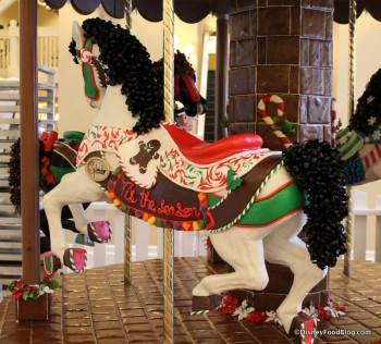 Splendor at the Beach Club Gingerbread Carousel