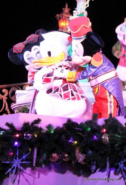 Minnie, Donald, and Mickey