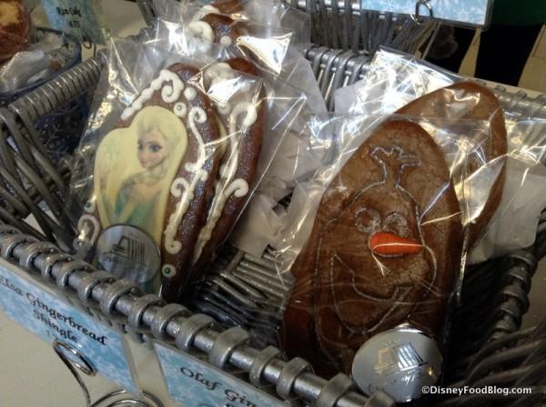 Elsa and Olaf Gingerbread Shingles