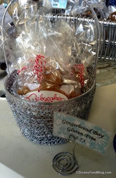 Gluten-Free Gingerbread Boy
