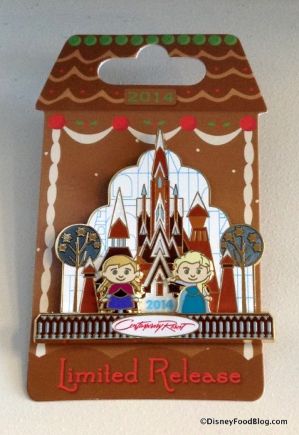 Gingerbread Display Pin