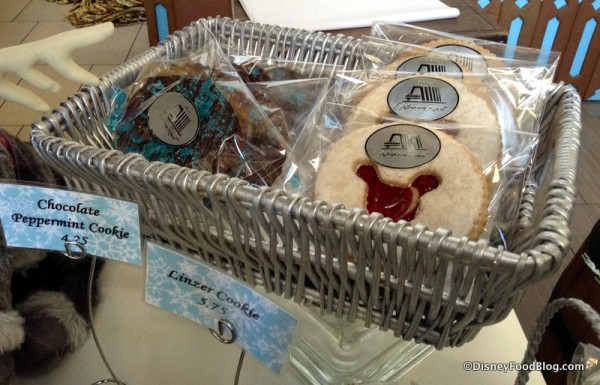 Chocolate Peppermint Cookies and Linzer Cookies