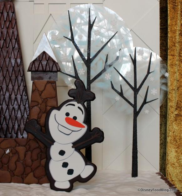 Olaf... and teeny tiny Olaf